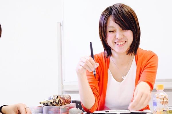 筆文字講座様子写真カメラ大阪筆ペン