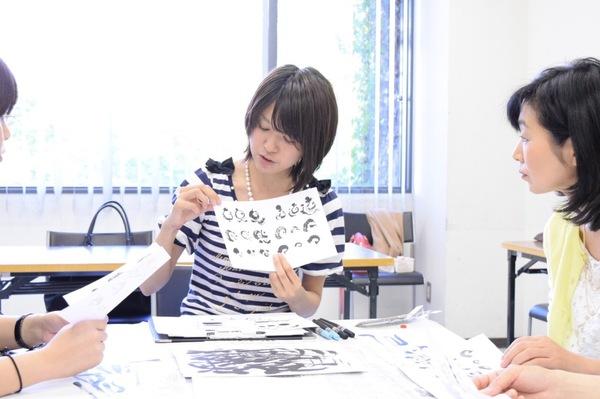 9大阪野田阪神福島区民センター筆文字講座風景写真カメラ