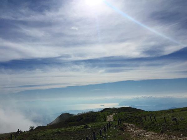山伊吹山ドライブウェイ滋賀琵琶湖綺麗和む癒される