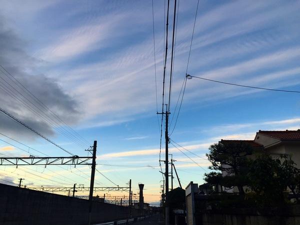 青空綺麗雲アート