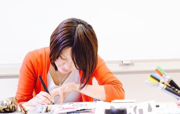 筆文字セラピーカウンセリングセラピスト対話心を癒す筆文字講座大阪市内